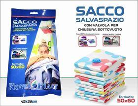 Immagine di SACCO SALVASPAZIO SOTTOVUOTO 50X60 CM