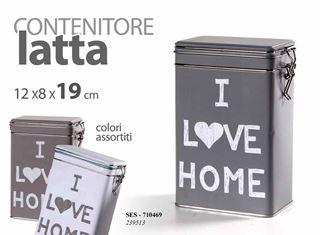 Immagine di CONTENITORE ERMETICO I LOVE HOME 12X8X19