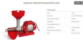 Immagine di SPREMIPOMODORO N.3 ELETTR. 450w ACC.PLASTICA